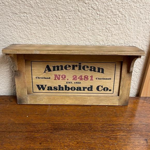 5for$10 American Washboard Shelf